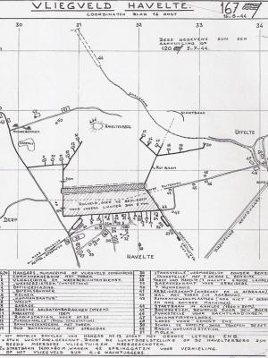 Kaart vliegveld